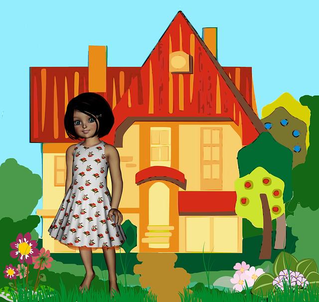 Girl, Child, Childhood, Linda, Doll, Little House