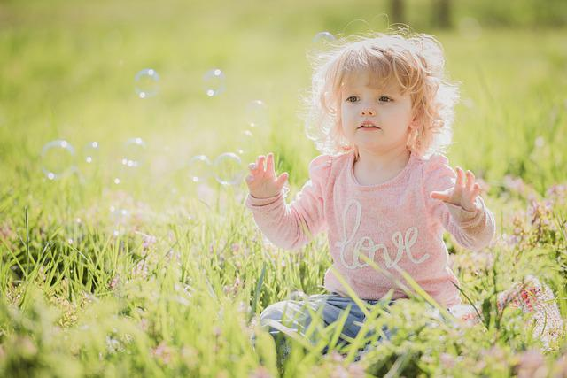 Nature, Nice, Grass, Child, Toddler, Outdoor, Green