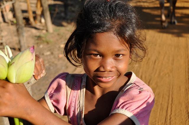 Child, Girl, Kambotscha