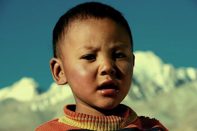 Doji, Ladakh, India, Tibet, Child