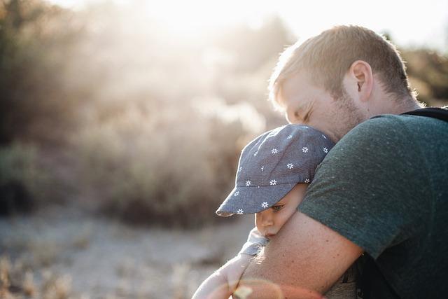 Child, Cute, Dad, Father, Love, Man, Nature, Parent