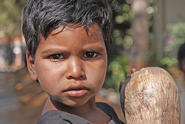 Child, Boy, Indian, Portrait, Face, Eyes