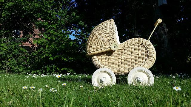 Baby Carriage, Doll Prams, Doll, Child, Toys, Orphaned