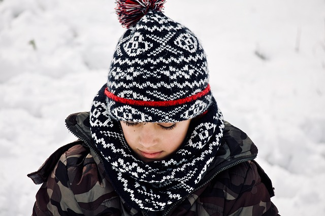 Child, Child In The Snow, Snow, Outdoor Play, Winter