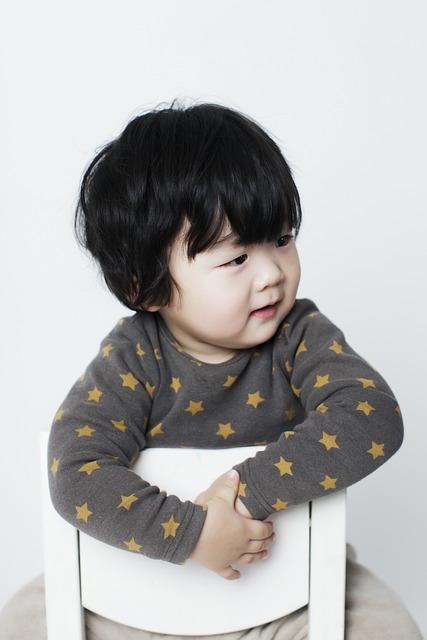 Baby Boy, Children, Man, Oriental, Profile, Children's