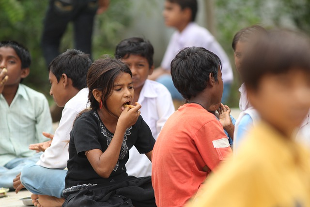 Children, Indian, Eating, Ahmedabad, Infant, Kids