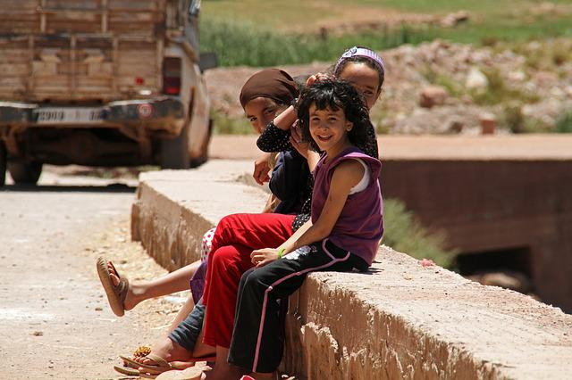 Marrakesh, Children, Child, Morocco, Life