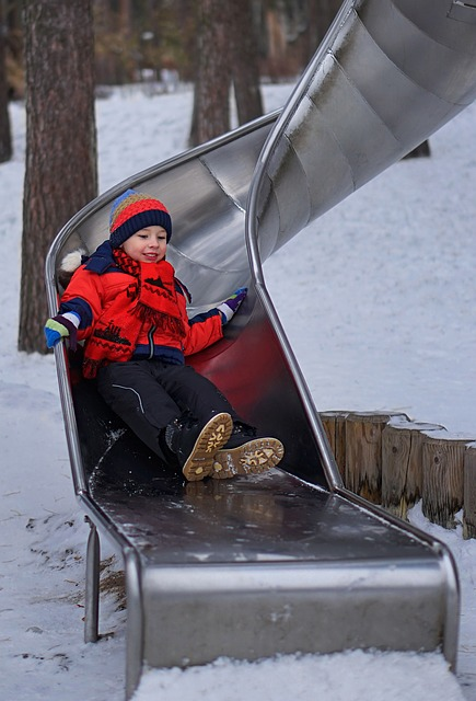 Playground, Walk With The Children, Children Play