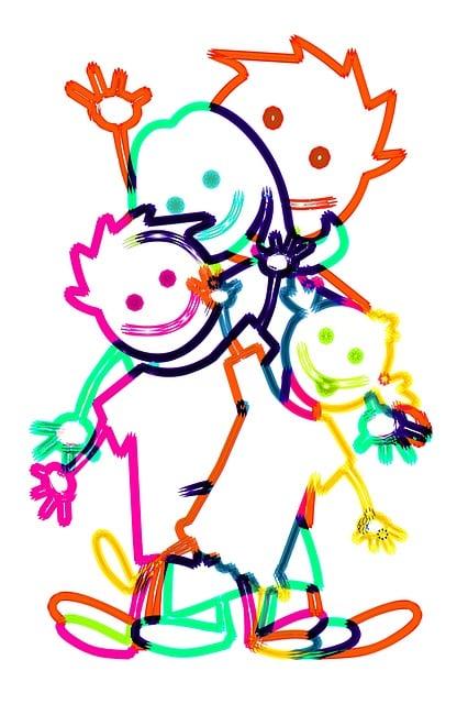 Family, Community, Children, Together, Unit, Smile