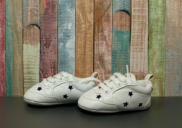 Baby Shoes, Cute, Small, Children's Shoes, Grey