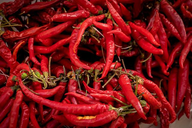 Majorca, Chili Pepper, Spain, Spices, Red