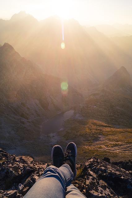 Chill, Chilling, Feet, Hiking, Lake, Mountain