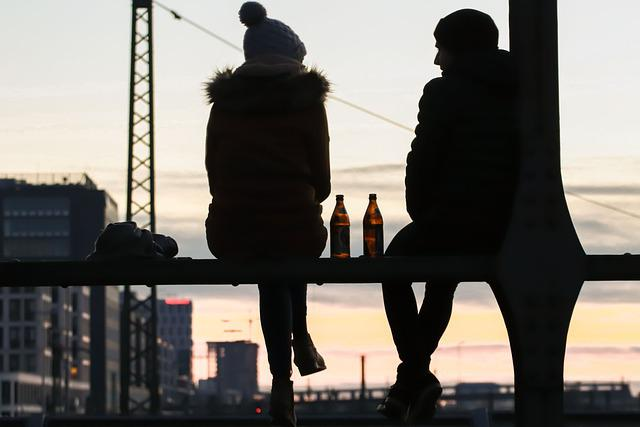 Human, Relax, View, After Work, Beer, Chill Out, Man
