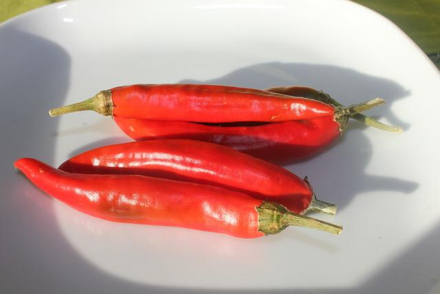 Chilli, Chili Pepper, Red