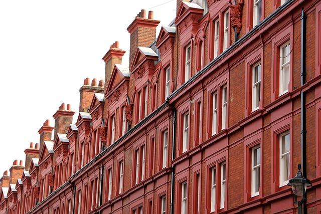 London, Facade, Chimney, United Kingdom, England