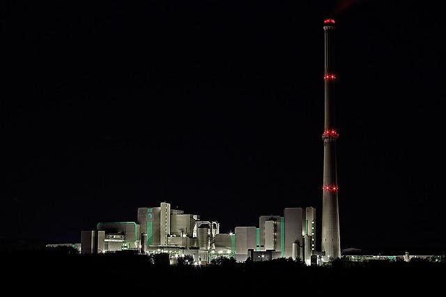 Waste Incineration, Incinerator, Chimney, Exhaust