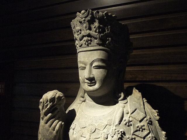 Buddha Statues, China, Stone