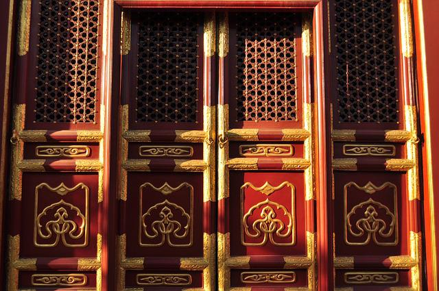 Door, Beijing, China