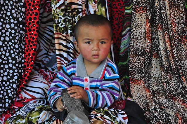 Baby, Boy, Child, China, Fabric
