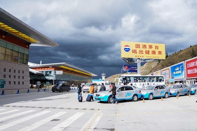 China, Jiuzhaigou, Airport