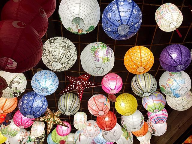 China, Antiquity, Lantern, Night, Lantern Festival