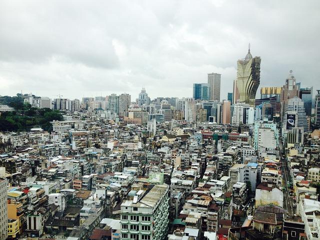 Macao, City, China, Macau, Asia, Building, Architecture