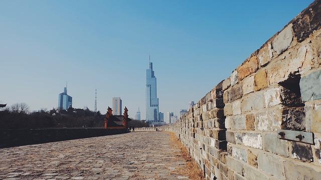 Nanjing, The City Walls, China