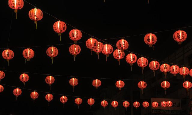 Chinese New Year, Red Light, New Year's Eve, China