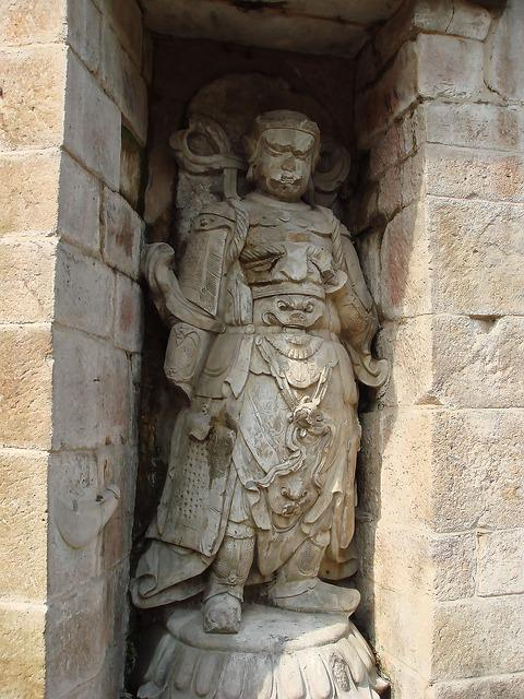 China, Sculpture, Idol, Monuments