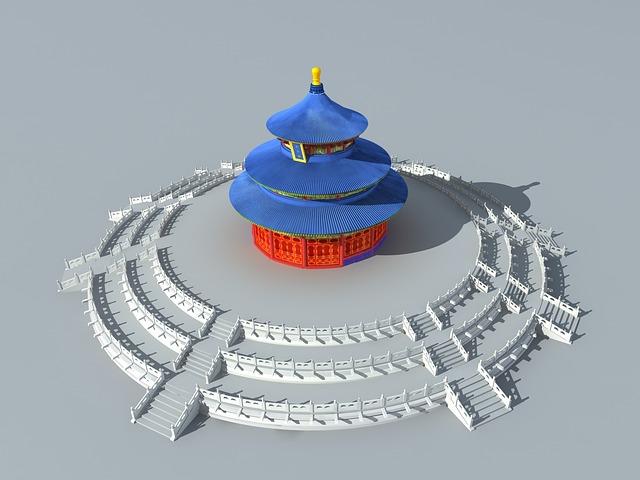 Heaven, Temple, China, Architecture, Building, Church
