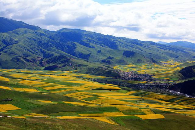 China, Qinghai, The Scenery