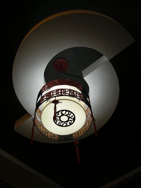 Lighting, China Wind, Beautiful
