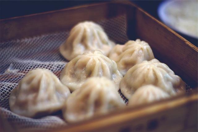 Dim Sum, Dumplings, Chinese, Food