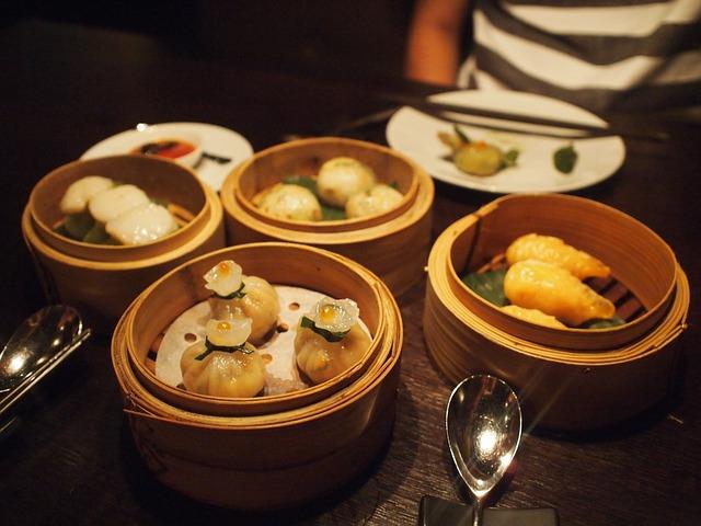 Chinese Food, Dumplings, Chinese, Food, Restaurant