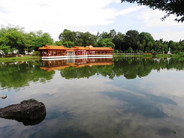 Chinese Garden, Singapore, Tourist Place, Travel, Asia
