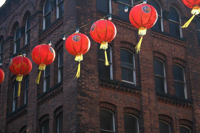 Chinese New Year, Chinese Lanterns, Chinatown, Chinese