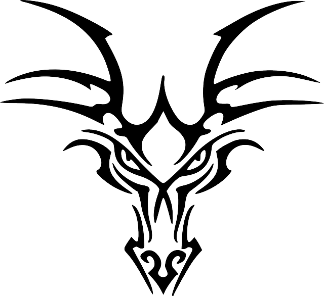 Dragons Head, Chinese, Dragon, Mythical Creature