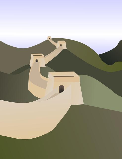 Great Wall Of China, Wall, Chinese Wall, Architecture