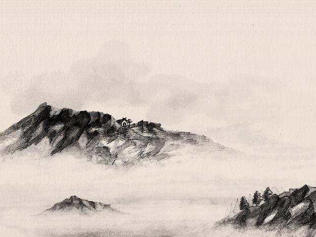 Sumi, Sumi-e, Watercolor, China, Chinese, Artistic