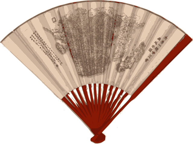Fan, Chinese, Japanese, Wind, Accessories