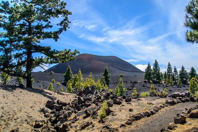 Volcano, Chinyero, Tenerife, Nature, Lava Black