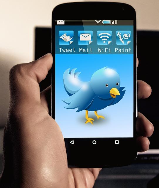 Twitter, Chirp, Tweet, Chirrup, Tweet, Smartphone