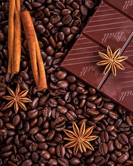 Coffee, Chocolate, Cinnamon, Anise, Star Anise