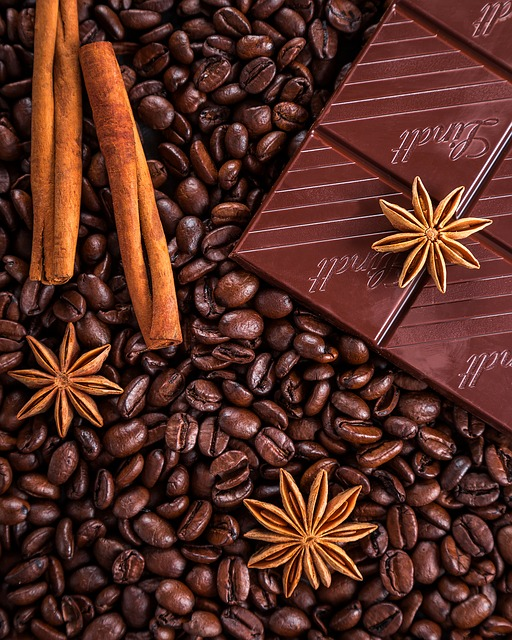 Coffee, Chocolate, Cinnamon, Anise, Star Anise