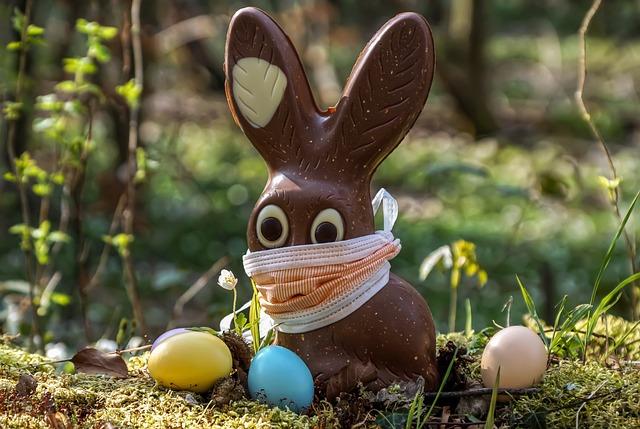 Easter, 2020, Corona, Easter Bunny, Chocolate
