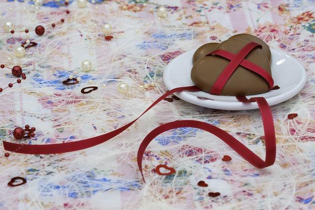 Heart, Chocolate, Love, Affection, Romance