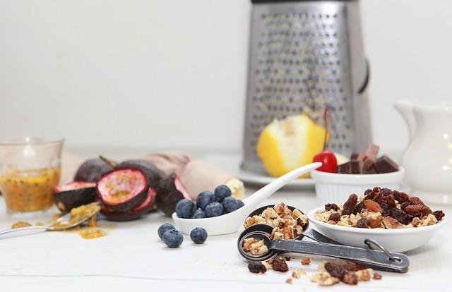 Cooking, Ingredients, Chocolate, Lemon, Blueberries