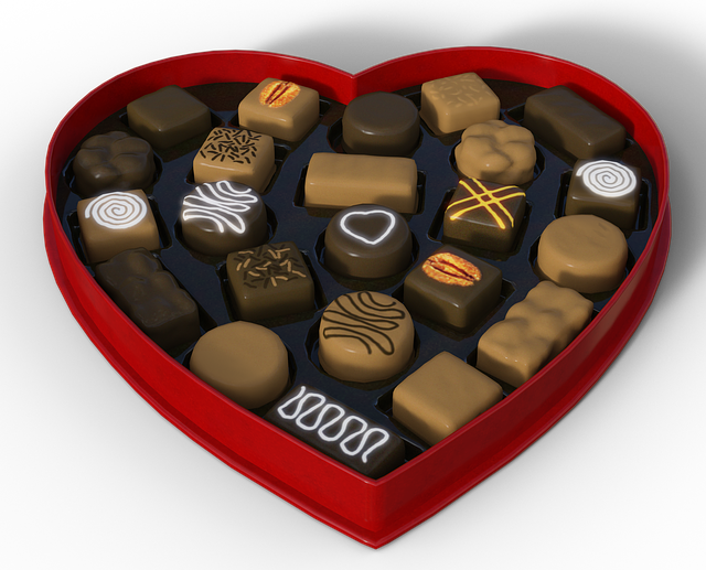 Heart, Chocolates, Gift, Packaging, Chocolate