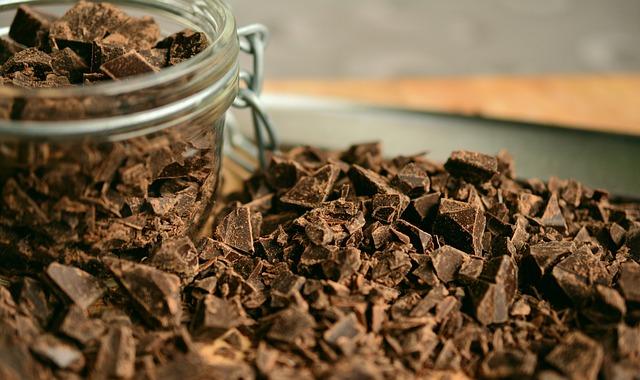 Chocolate, Shaving, Chopped Chocolate, Hacked