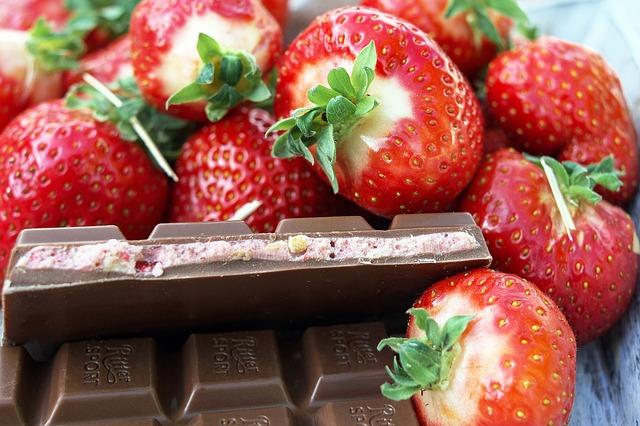 Chocolate, Strawberries, Strawberry Chocolate, Candy